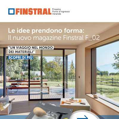 Serramenti Finstral, nuovo magazine dedicato ai materiali: richiedi copia