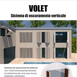 Sistema di oscuramento verticale  - Volet by Like Blinds