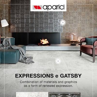 Pavimenti e rivestimenti Aparici: Expressions e Gatsby