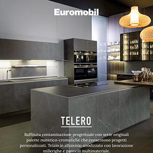 Euromobil cucine, collezione Telero