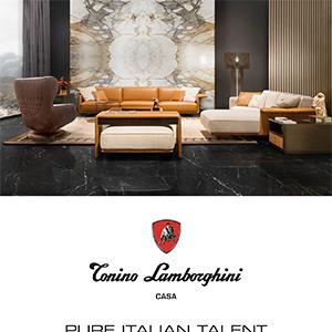 Tonino Lamborghini home collection: pure Italian talent