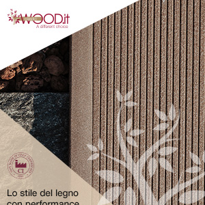 La rivoluzione del legno per esterno