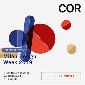COR anteprima Milano Design Week