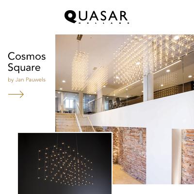 Lampade a sospensione Quasar: Cosmos Square