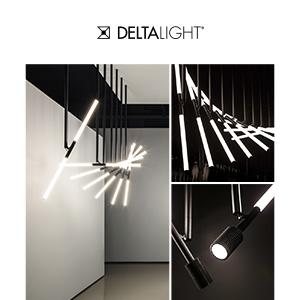 Luce architetturale Delta Light: punto, linea, superficie per infinite configurazioni