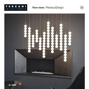 Terzani Abacus: moltiplicazione di luci sferiche