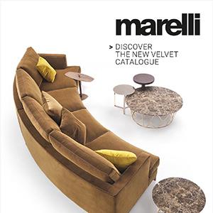 Marelli Velvet, nuovi arredi luxury: scarica il catalogo