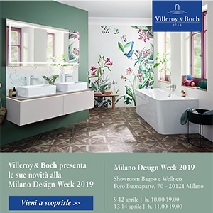 Villeroy & Boch presenta le sue novità alla Milano Design Week 2019