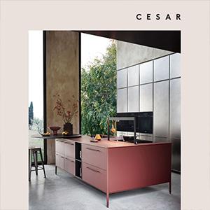 Unit by Cesar: la cucina è mobile. Scarica il nuovo catalogo