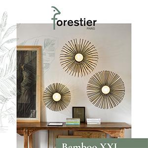 Illuminazione in bambù Forestier: scopri le nuove collezioni Up e Up & Down