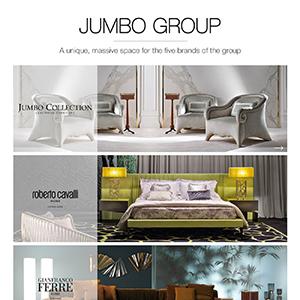 Jumbo Group presenta i suoi cinque brand e le sue novità al Salone del Mobile