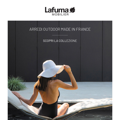 Arredi outdoor made in France LAFUMA Mobilier