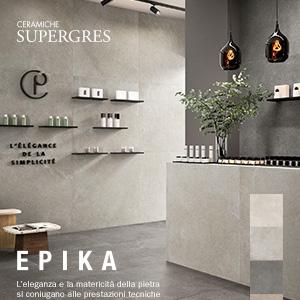 Ceramiche Supergres effetto pietra limestone: scopri Epika