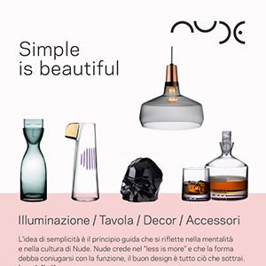 Accessori e decor artigianali in vetro di alta qualità NUDE