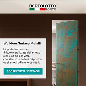 Bertolotto Surface: il design del Metallo