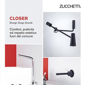 Zucchetti Closer: oltre i limiti del classico rubinetto