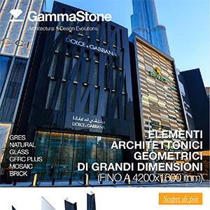 Grandi lastre monolitiche per architetture imponenti GammaStone