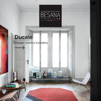 Tappeti personalizzabili: collezione Ducale by Besana Moquette