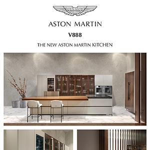 Nuova cucina su misura Aston Martin