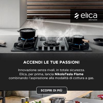 Elica NikolaTesla Flame: accendi le tue passioni