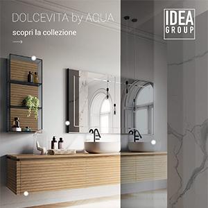 Arredo bagno Ideagroup, l'eleganza senza tempo: Dolcevita by Aqua