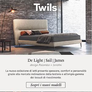 Twils, nuova collezione letti: scoprila ora
