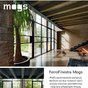 Mogs FerroFinestra: profili minimali ed eccezionale isolamento termico