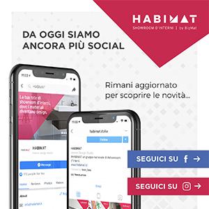 Segui HABIMAT anche sui Social!