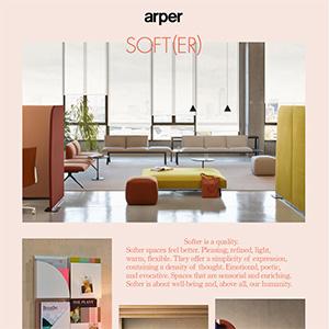 Arper Soft(er): connessione, sensibilità, comfort e semplicità