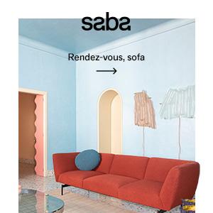 Sedute Saba Rendez-vous per residenziale e contract