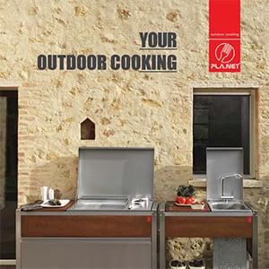 Cucine outdoor Oasi by PLA.NET