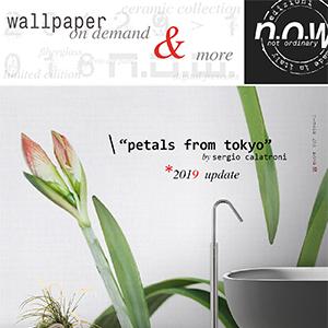 Rivestimenti murali anche per ambienti umidi N.O.W. Edizioni: nuovo catalogo 2019
