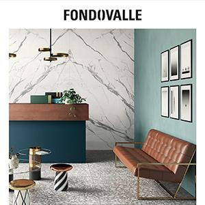 Pavimenti e rivestimenti in grès porcellanato Fondovalle: sobria eleganza