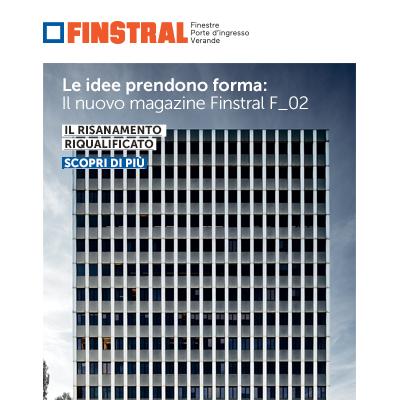 Serramenti Finstral: nuovo magazine dedicato ai materiali, richiedi copia
