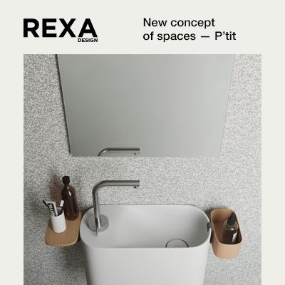 Lavamani Rexa Design: nuove concezioni di spazio