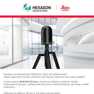 Laser scanner 3D per rilievi architettonici Leica Geosystems