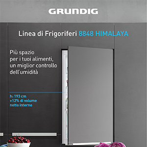 Frigoriferi Grundig Total No Frost con sistema Duo-Cooling