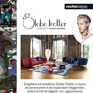Roche Bobois, collezione Globe Trotter by Marcel Wanders: un invito al viaggio