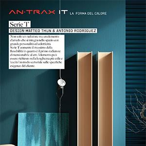 Serie T, il primo radiatore sartoriale in alluminio estruso by Antrax IT