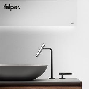 Falper, nuovi rubinetti in acciaio inox: scoprili