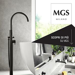 Rubinetteria MGS in acciaio inox per cucina, bagno e outdoor