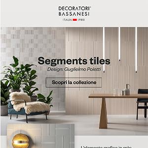 Rivestimenti tridimensionali in grès porcellanato: Segments by Decoratori Bassanesi