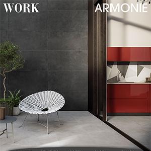 Gres effetto cemento per pavimenti e rivestimenti: Work by Armonie