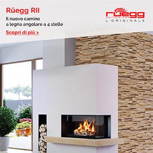 La nuova frontiera del fuoco a 4 stelle: camini angolari Rüegg