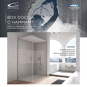 Box doccia o hammam senza opere murarie - Gruppo Geromin