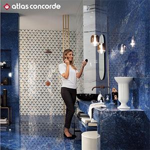 L'interior design riscopre la meraviglia del gres porcellanato effetto marmo