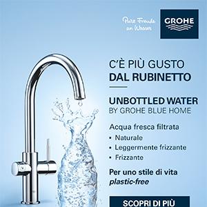 Rubinetto con filtro GROHE: acqua fresca subito!