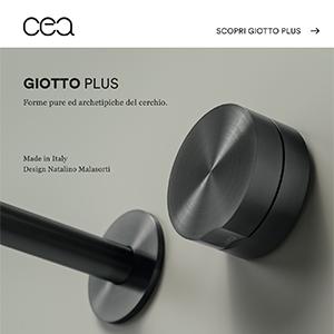 Miscelatori monocomando ispirati alla forma del cerchio: Giotto Plus by CEA