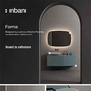 Forma, nuova collezione bagno Inbani