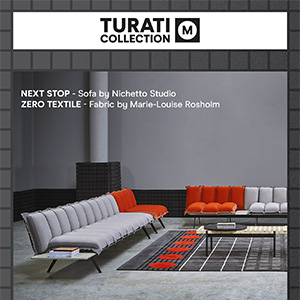 Sancal Turati collection: sofa Next stop by Luca Nichetto